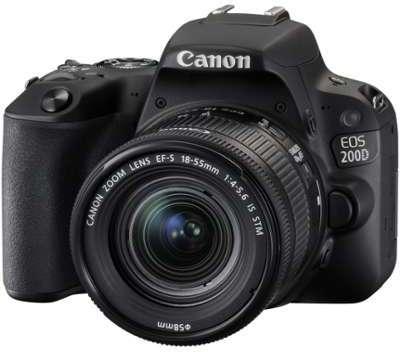 CANON Eos 200D 18-55mm f 4-5