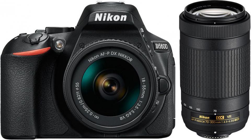 Appareil photo reflex nikon d5600 18 55 70 300vr - Boulanger appareil photo numerique ...