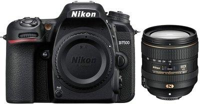 NIKON D7500 16-80mm f 2 8-4