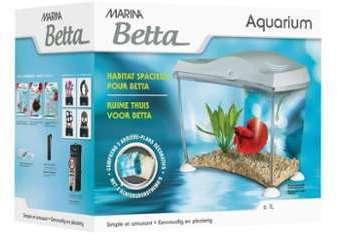 Aquarium pour betta kit Marina