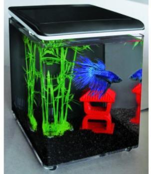 Aquarium Home 8 noir 8L