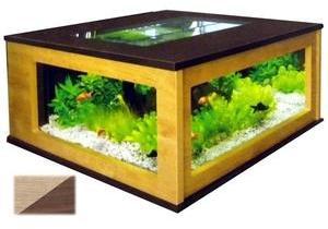 Aquarium Table 310L noyer