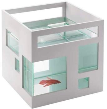 Aquarium Blanc design Hôtel