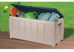 Armoire de jardin en PVC 340L