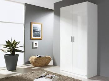 Armoire CELLON blanc 2 portes