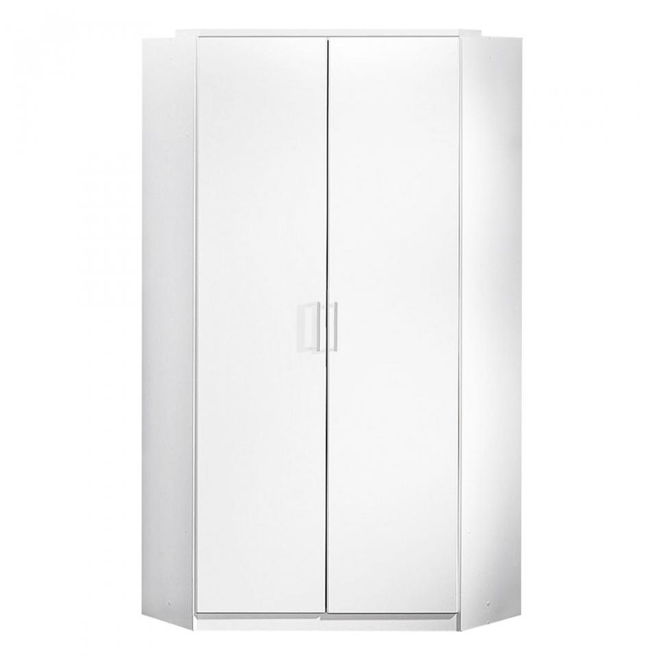 Armoire d angle Click - Blanc