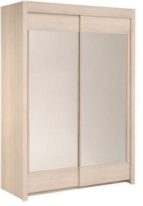 Armoire avec miroir 2 3 penderie