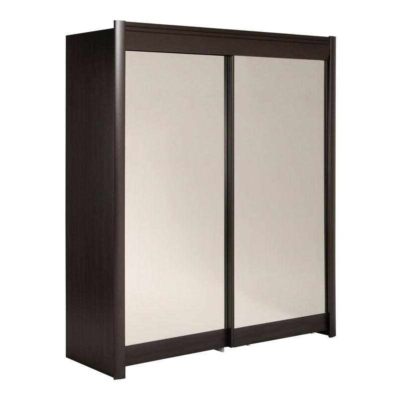 Recherche miroir du guide et comparateur d 39 achat - Armoire dressing portes coulissantes miroir ...