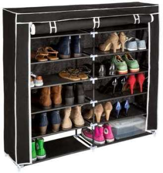 Armoire à chaussures double