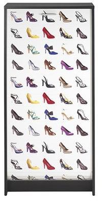 Meuble chaussures scarp noir