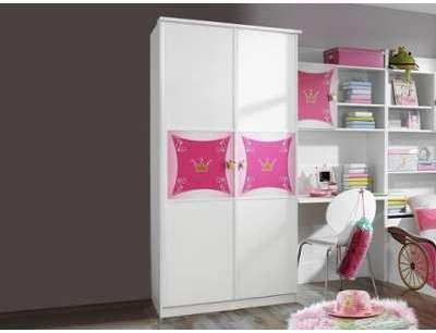 Armoire PIPA 2 portes blanc