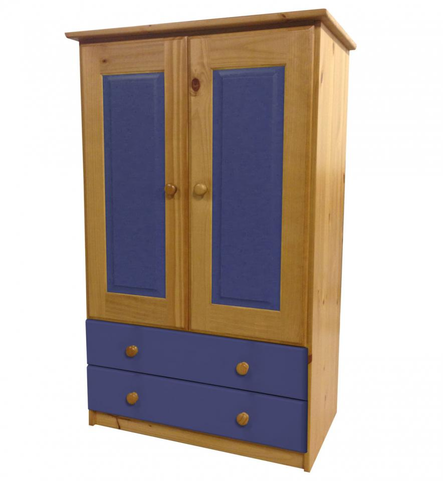 Soldes - Armoire pin massif
