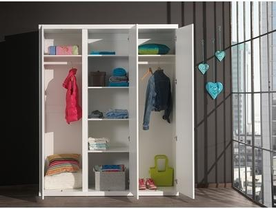 Armoire enfant design 3 portes