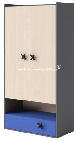 catgorie armoires enfants du guide et comparateur d 39 achat. Black Bedroom Furniture Sets. Home Design Ideas