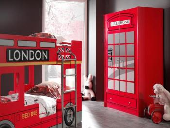Armoire enfant TELEPHONE LONDON