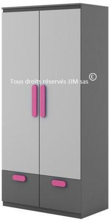 Armoire 2 portes design pour
