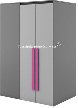 Armoire-dressing 2 portes