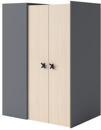 Armoire-dressing angle 2 portes