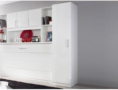 Armoire ALBANO 1 porte blanc