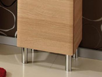 Pieds pour meuble de salle