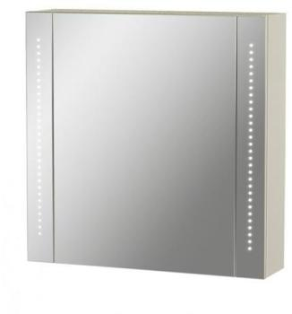 Armoire miroir LED 60x60 Blanc