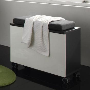 Caisson de salle de bain gris