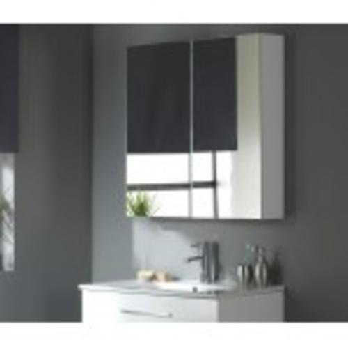 Miroir armoire 80 cm Blanc
