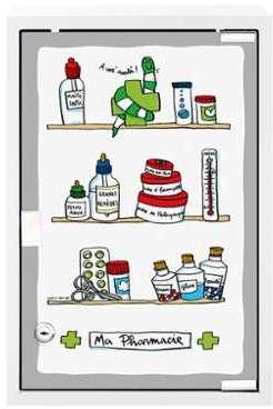 Armoire à Pharmacie Polata