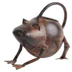 Arrosoir en métal forme animaux
