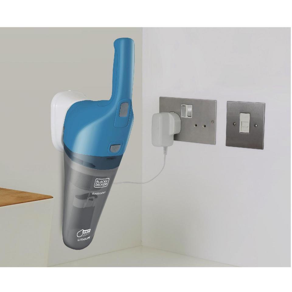 black decker aspirateur main rechargeable wdb115wa eau poussires. Black Bedroom Furniture Sets. Home Design Ideas