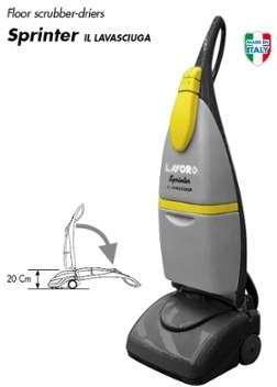 autolaveuse lavorwash mod le pro sprinter pour lavage du sol. Black Bedroom Furniture Sets. Home Design Ideas