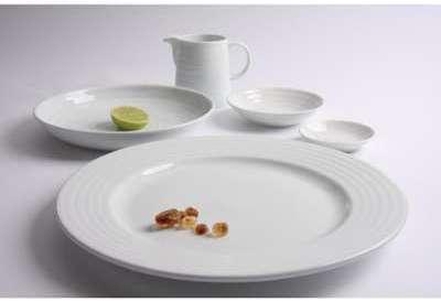 Assiette Intenzzo White 160mm