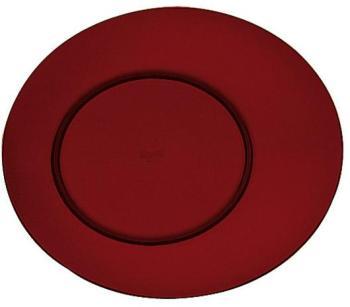 Assiette plate grenat 27cm