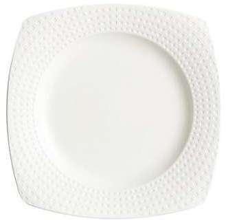 Assiette plate carrée 25 5cm