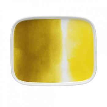 Oiva - Assiette - jaune blanc