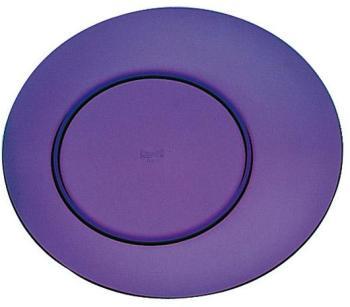 Assiette plate améthyste 27cm