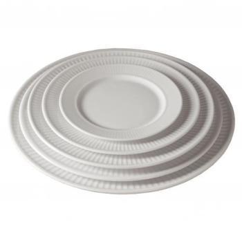 Assiette plate 20 cm en porcelaine