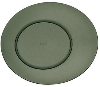 Assiette plate onyx 27cm en