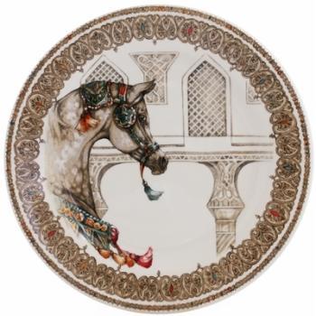 Assiettes dessert cheval Chevaux