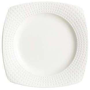 Assiette plate carrée 21 5cm