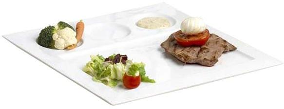 Assiette 4 compartiments plate
