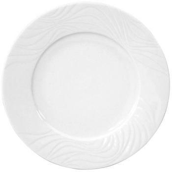 Assiette en porcelaine plate