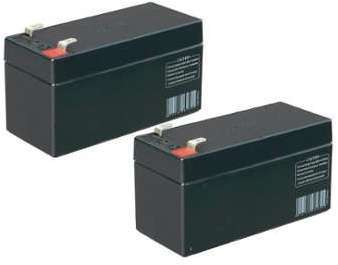 Batteries 12V de secours lot