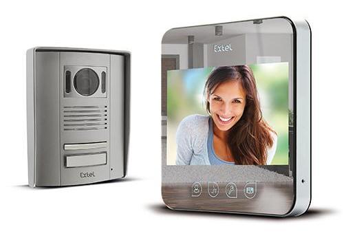 Interphone vidéo miroir EXTEL
