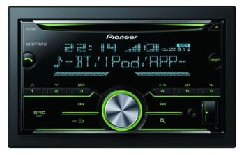 AUTORADIO MP3 PIONEER FH-X730BT