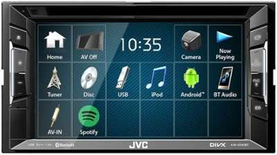 AUTORADIO VIDEO GPS JVC KW-V240BT