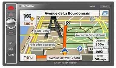 AUTORADIO VIDEO GPS PHONOCAR