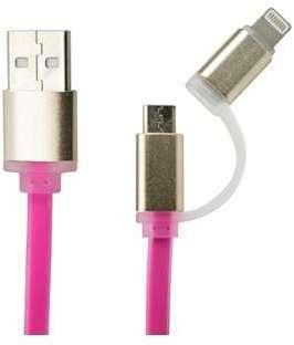 Câble chargeur 2 en 1 Iphone