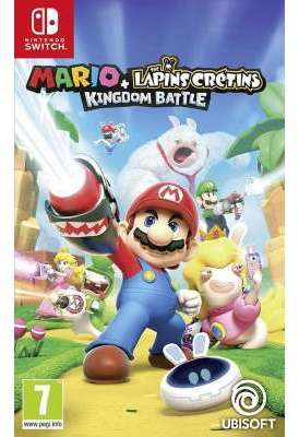 Jeu Switch Ubisoft Mario Lapins