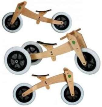 Wishbone Bike - 3 En 1 Naturel